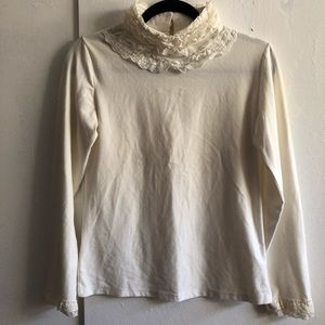 Lolita Turtle Neck Long Sleeves
